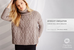 """Kykuit Jumper by Michele Wang"" - Jumper Knitting Pattern For Women in The Yarn Collective"