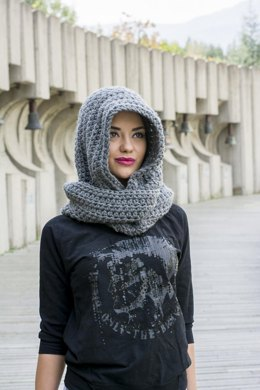 The Avielle Hooded Scarf
