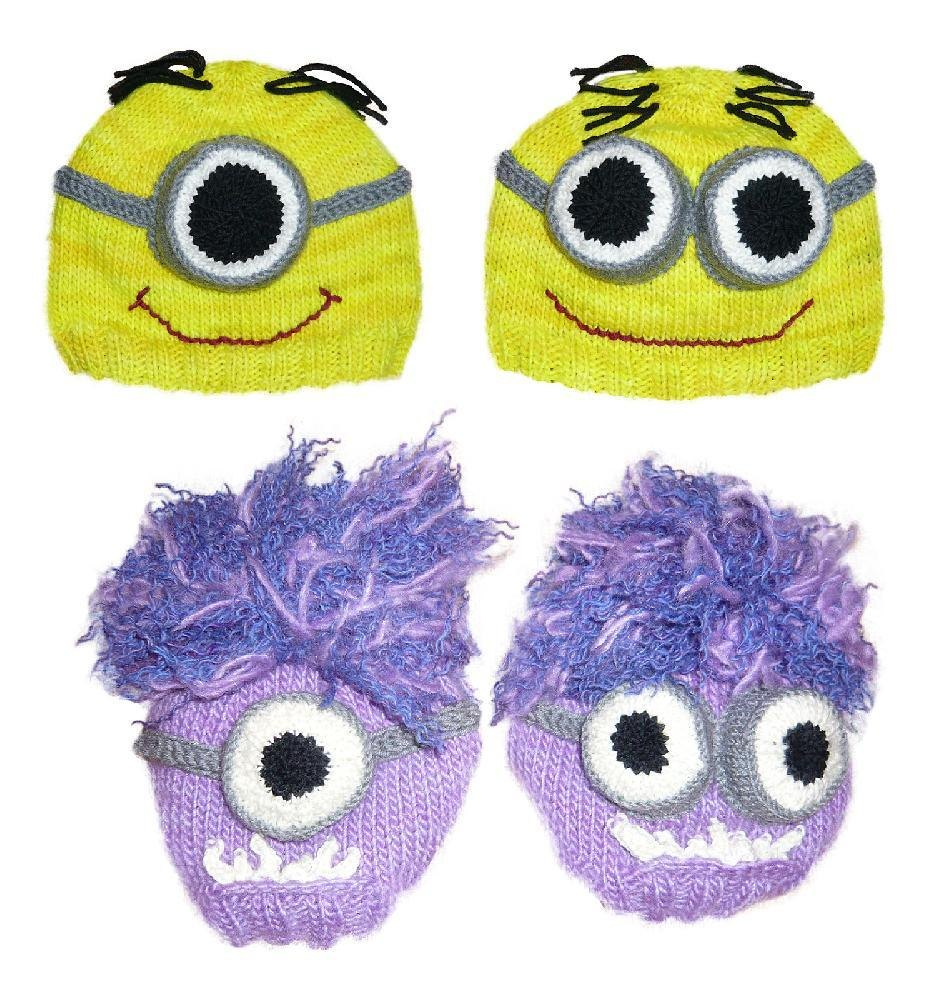 Despicable Me Knitted Minion Hat Pattern Knitting pattern by Jillian ... 03c775ee6f6