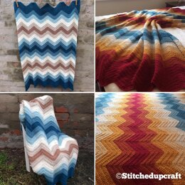 Stitched Up Chevron