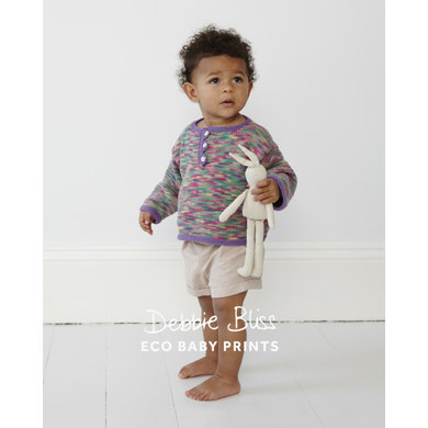 Triangle Edged Top In Debbie Bliss Eco Baby And Eco Baby