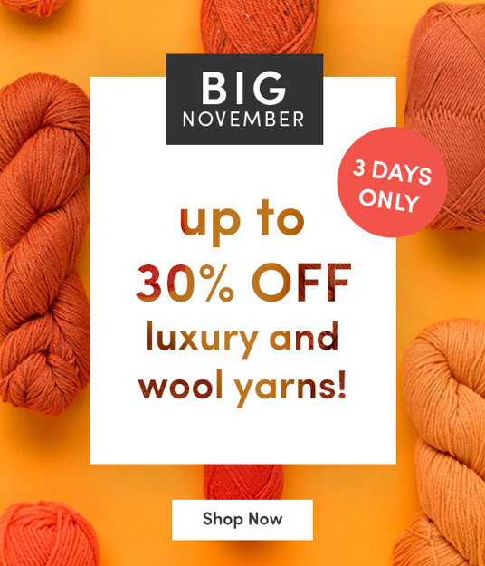 30 percent off luxury and wool