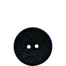 Etched Coconut 30mm 2-Hole Button