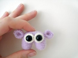 Amigurumi Ro the Tiny Monster
