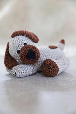 Harold the Dog in Rico Essentials Cotton DK - Downloadable PDF