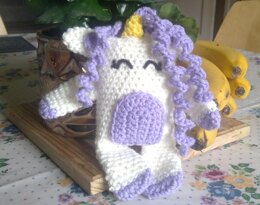 Crochet animal unicorn