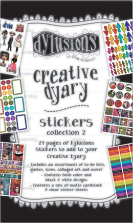 Ranger Dyan Reaveley's Dylusions Creative Dyary Sticker Book - Book 2