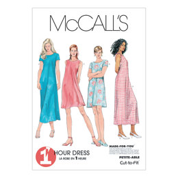 McCall's Misses' Dress In 2 Lengths M6102 - Sewing Pattern