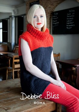 Lexi Tunic in Debbie Bliss Roma - DBS019 - Downloadable PDF