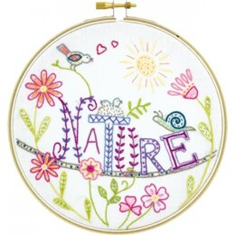 Un Chat Dans L'Aiguille Long Live Nature! Embroidery Kit