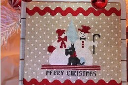 Luhu Stitches Merry Snowpeople - Downloadable PDF