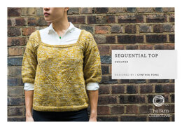 Sequential Top by Cynthia Fong in The Yarn Collective - Downloadable PDF