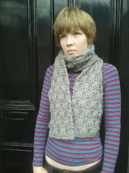Chunky Woven Scarf