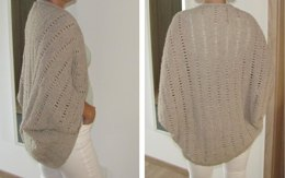 Jacket / Cardigan as Square knitted