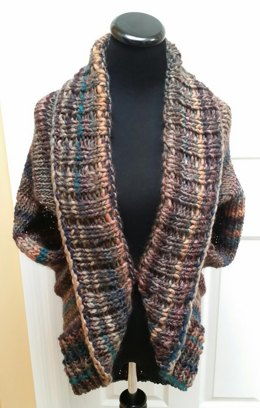 Autumn Chill Cocoon Vest