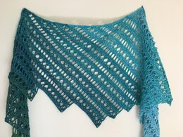 Wading In Shawl