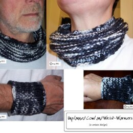 Unplanned Cowl and Wrist-warmers