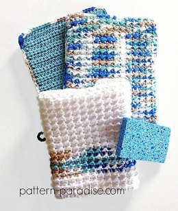 Oven Mitt & Dishtowel Kitchen Set PDF12-112