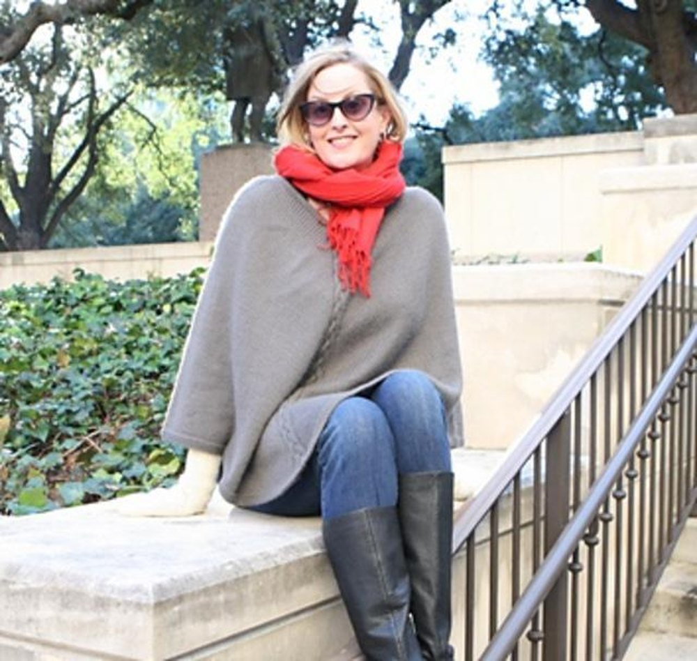 Rodeo Drive Poncho Knitting pattern by Staci Perry | Knitting ...