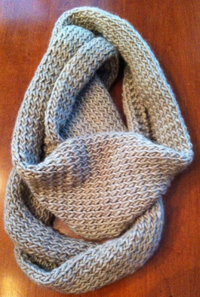 Bettys Infinity Scarf Knitting pattern by Karin Michel