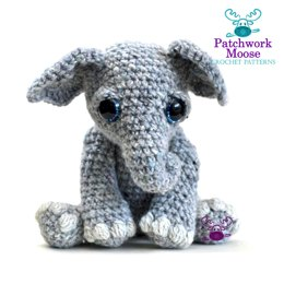 Amigurumi Elephant  - Tilly