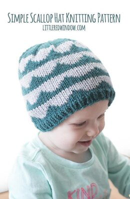 Simple Scallop Hat