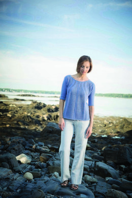 Marbore Sweater in Berroco Cosma - PDFNG16-5