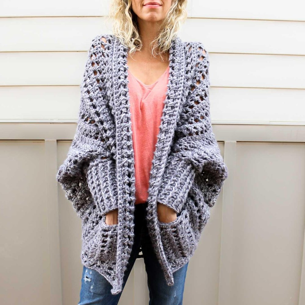 The Dwell Sweater Crochet Pattern By Jess Coppom Make