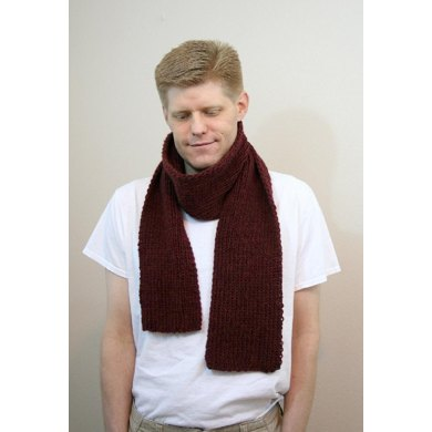 A16 Mens Ribbed Scarf