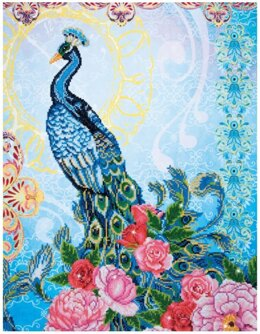Diamond Dotz Exotic Peacock Embroidery Kit