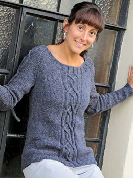 Erin Pullover in Knit One Crochet Too Soie Et Lin 5 - 2078 - Downloadable PDF