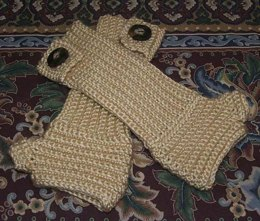 Button Arm Warmers