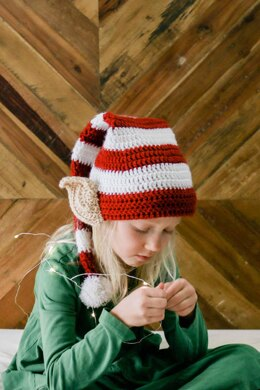 Santa's Little Helper Elf Hat with Ears