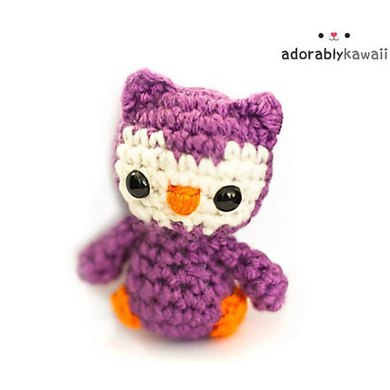 Crochet pattern for cute owl | 390x390