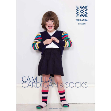 Camilla Cardigan and Socks in MillaMia Naturally Soft Merino