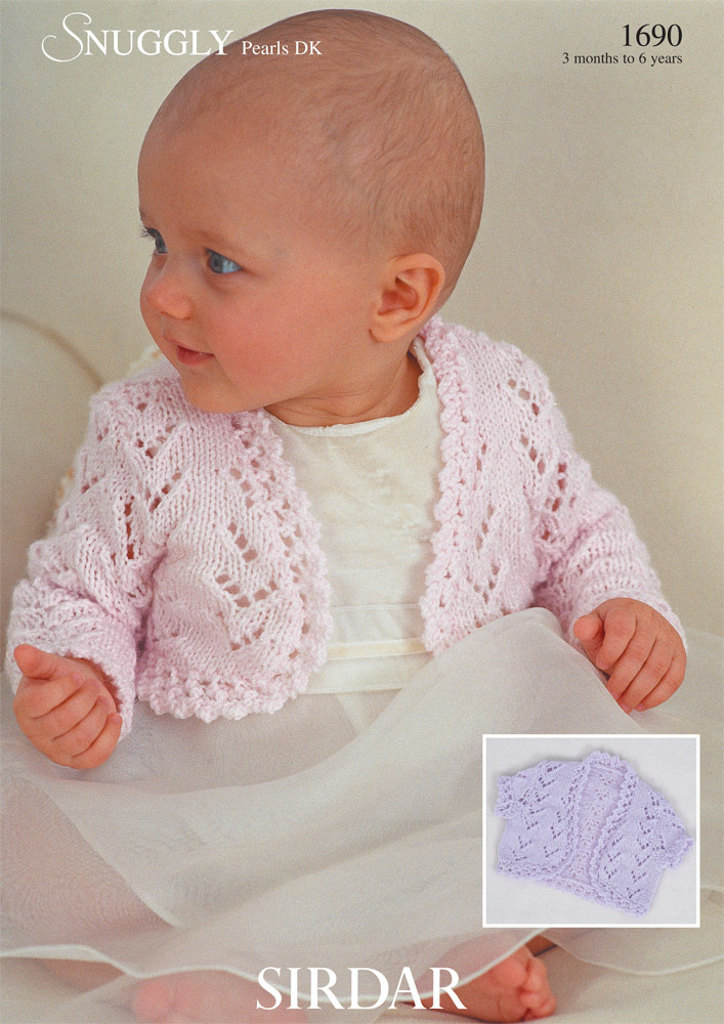 Bolero Knitting Patterns | LoveKnitting