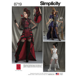 Simplicity 8719 Women's Costumes - Sewing Pattern