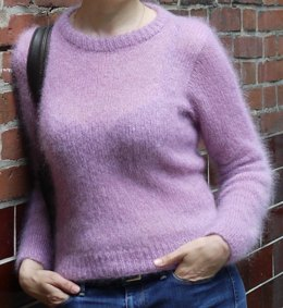 Fluffy Set In Pullover