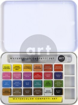 Prima Marketing Art Philosophy Watercolor Confetti Set - 611709