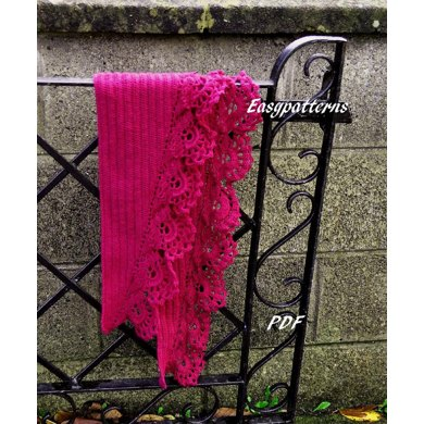 The Flower Garden Shawl
