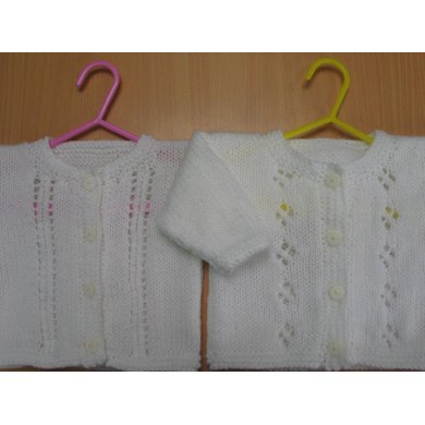 Baby cardigans - 2 options