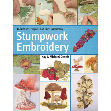 Search Press Stumpwork Embroidery: A Practical Guide to Creating Plants, Animals & Figures - 1013193 -  Leaflet