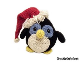 Amigurumi Howie the Holiday Penguin
