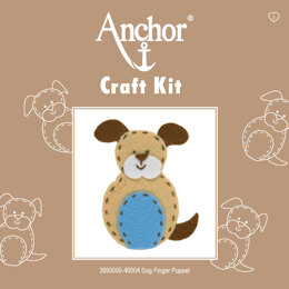 Anchor Dog Finger Puppet Embroidery Kit