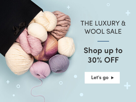 The Luxury & Wool sale! Shop up to 30 percent off
