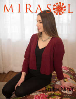 Red Cardigan in Mirasol Nina - M5077