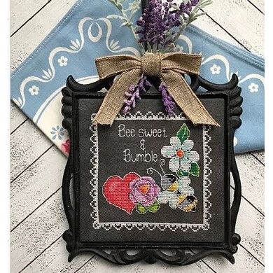 Luhu Stitches Bee Sweet & Bumble - Downloadable PDF