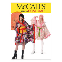 McCall's Misses' Costumes M7270 - Sewing Pattern