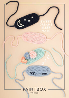 7d7a2a39f Sweet Dreams Sleep Mask in Paintbox Yarns Baby DK - Downloadable PDF. Free.  Free pattern. Downloadable pattern. By Paintbox Yarns. What you can make