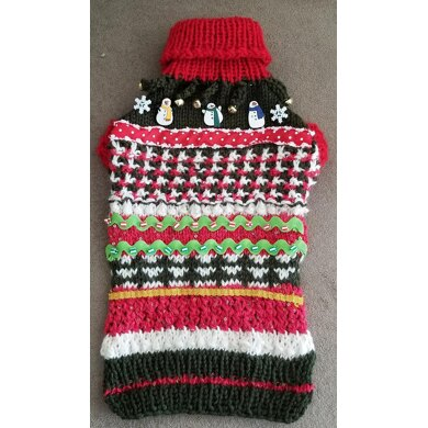 Lena's Ugly Christmas Sweater for Miniature Dachshunds